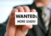I will coach you on how to generate 15 to 25 laser targeted leads a day for your network marketing business