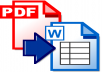 I will take a PDF file less than 65 pages and convert it to a fully-editable Microsoft Word document! I WILL accept any PDF file not locked or protected that is under 65 pages. I WILL NOT accept a locked or in any way restricted PDF. One PDF file will be converted per gig!