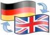 I can translate any text or article of 500 words or less from english to perfect german or I can even check your german grammar texts and fix them for you, if you want. I will warrant you premium quality of my Gig.  I'm born and living in germany. I finished my master in communication and speech last year, so I'm very experienced.  PS: If you have larger orders of more than 2000 words, please conctact me.