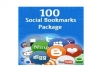 provide you 100 Social Bookmarks and Shares to Promote your Website or Blog or Video within 24 hours