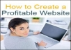 Show You How To Build Profitable website & Rake in Crazy Profit Online