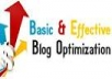 show you in a step by step fashion how to make a blog and optimize it so that you get hundreds of visitors on a daily basis