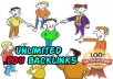 sell you my Money Making Guide to get unlimited backlinks + Bonus