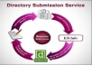 submit your website 25 instant approved manual directory submission back with PR4 - PR0