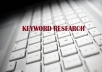 ★BEST Keyword Research★Get 20 Lowest Competition Keywords with High Searches in your niche★ Very Accurate★Exact Difficulty Level Given★
