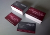 design any type of business cards you want