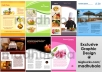 do any grapic design such as Flyer,Brochure,Rackcard,Postcard,Poster,Leaflet