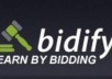 make 25 Bidify sign ups under your referral