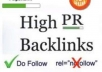 give you backlink at my pr5 blog business niches