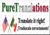 professionally Translate any document
