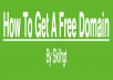 sell you my ebook on how to get a free .com domain