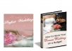 sell 4 Great Wedding Planning eGuides about Wedding Favors, Gifts, Photography, Games, Perfect Wedding on a Shoestring Budget