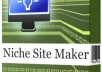 give u niche site maker easy too build niche site only
