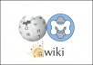 manually build 50 high PR dofollow wiki backlinks to your website or blog