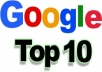 make a killer SEO report for your website which will help you to optimize your website in specific areas and ultimately help you to obtain Top 10 position in Google search results