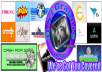 Make 3 Facebook Covers Or fanpage Covers With Your Name Or Company Name Or Logo