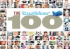 give you 100 twitter accounts with password just