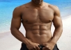 "send You My Diet / Workout Plan with ebook about ""How to get 6 packs abs"" as a bonus"