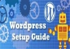 Teach You Free,Quick, Easy and Secure WordPress Setup Guide -The 15 min process I used to charge min 50 dollar