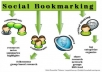 submit your site or blog MANUALLY to 25 Social Bookmarking sites PR4 to PR8