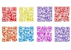 make up to 5 QR Codes in any colour for your website/facebook/twitter account