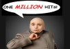 give you 1,000,000 hits picture to your website