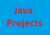 I will do any java project you need for $5.Any project will be delivered in 1-5days.