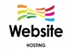 make a single page website and 1 year hosting