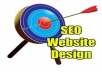design a website with SEO