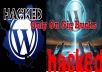 Help You Recover Your Hacked Wordpress Site