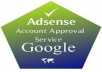 Give You Google Adsense Account With Your Name and Address Only