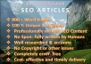 write one Search Engine Optimized article of 800 Words on any topic