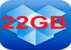 expand your account dropbox to 22GB within 24 hours