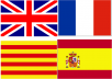 translate any document from English to French, Spanish, Catalan and Creole