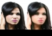 retouch your photo or give you a photoshop makeover