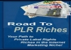 give you Tons of PLR Articles and MRR Products with Resell Rights