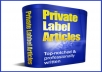 Give you 10.000 of PLR articles and Ebooks from any niches