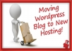 move Wordpress To A New Host for You