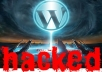 help you fix Hacked WordPress Site or Blog
