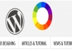 set up basic wordpress website with basic theme or upgrade plugins and wordpress versions or move wordpress website from one host to another
