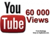 bring over 60 000 REAL views to your youtube video in around 1 week