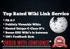 spin and create 20000 Unique Wiki Backlinks from your feed and Lindexing