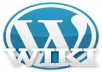 set up your wordpress with theme and necessary plugin and submit your url to more then 1000 wiki,edu or gov site