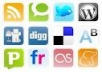 submit your website in to high pr 40 social bookmark sites