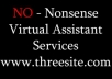 offer 1 hour worth of Virtual Assistant Services