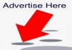 post your advertise to over 10 MILLIONS of Real people