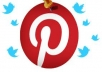 share 20 images of your choice to my 5k+ Pinterest followers