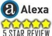give you a 5* positive review on alexa or any other site you want