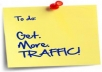 show you how to bring 100.000 visitor free to your website