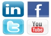 blast any link to 8 twitter accounts totaling 115k followers, 3 myspaces with 38k+ friends and extras